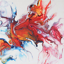 Load image into Gallery viewer, Red-Fin Splash, Fluid Series