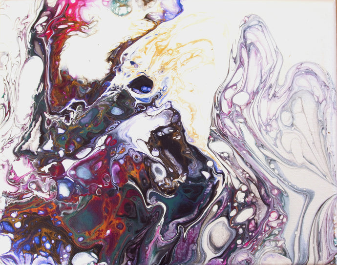 Going Under, Fluid Painting