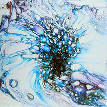 Load image into Gallery viewer, Blue My Mind, Fluid Series