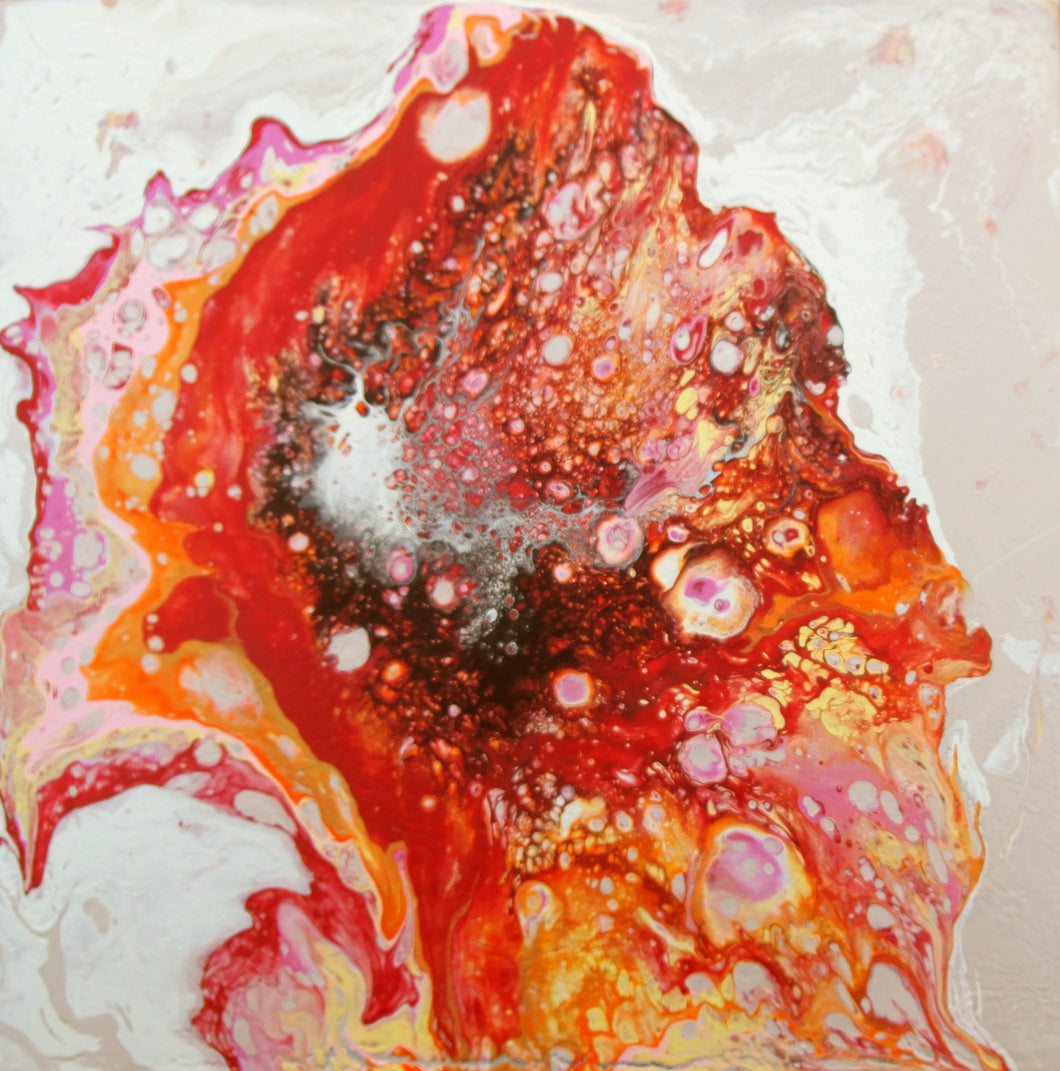 Hibiscus Bloom, Fluid Series