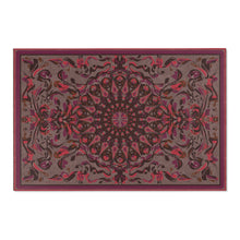Load image into Gallery viewer, Fanciful Mandala, Rose Blend Area Rug