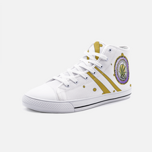 Load image into Gallery viewer, 420 Weed Spot,  Unisex High Top Canvas Shoes