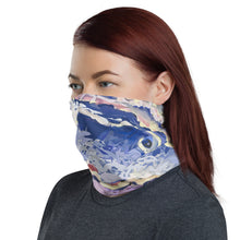 Load image into Gallery viewer, Ribbon Sea, Neck Gaiter, face covering.