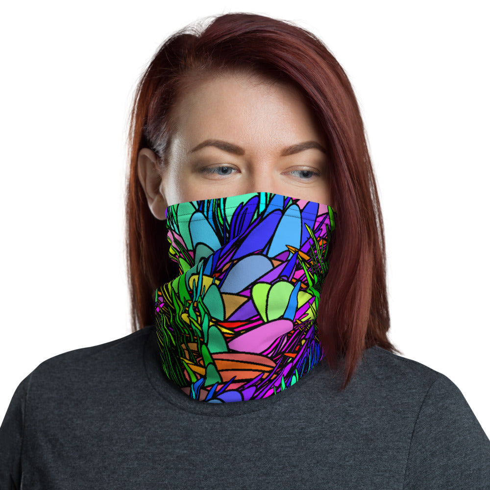 Spring Grass, Face Covering, Neck Gaiter