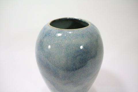 Vase (Small Teardrop) - Off white/grey