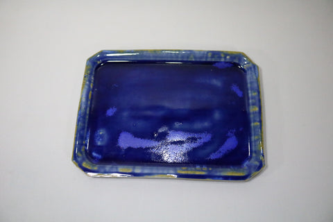 Sushi Plate - Crazy blue