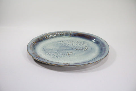 Small Oval Platter - Cloud Grey