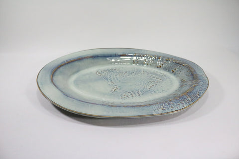 Oval Platter - Cloud Grey