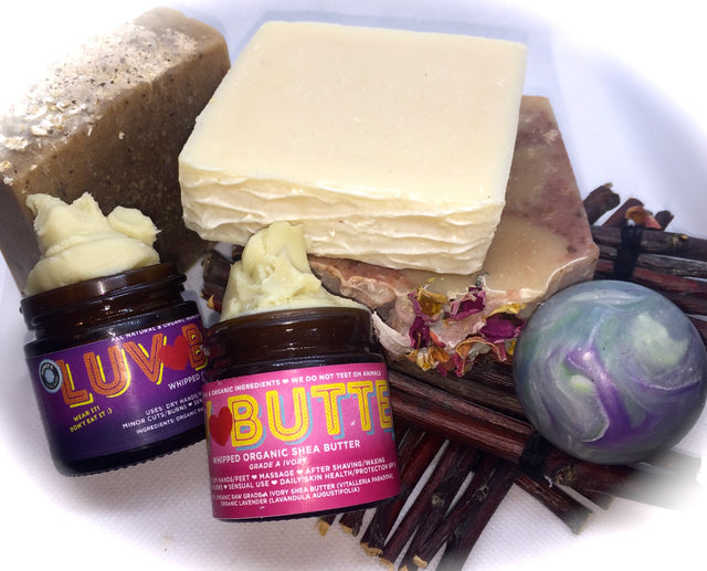 Bella's Soap Box and Luvbar Butter