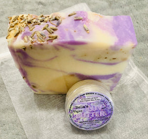 Bella's Mini Bundle Lavender Soap & Lavender LuvButter