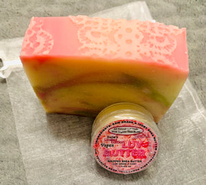 Bella's Mini Bundle Citrus Rose Soap & Rose LuvButter