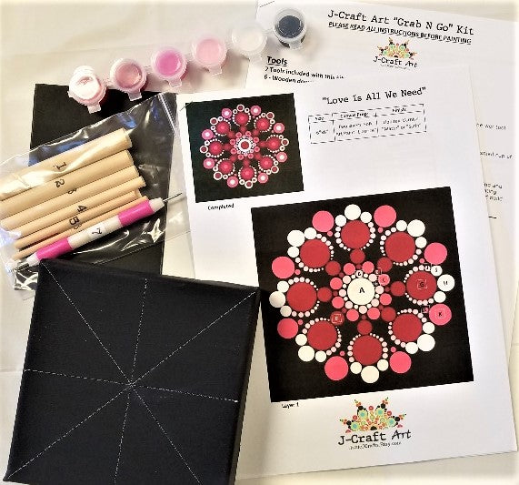 Mandala Dot Art Kit from J-Craft Art