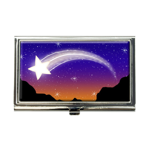 Wishing on a Shooting Star Business Credit Card Holder Case