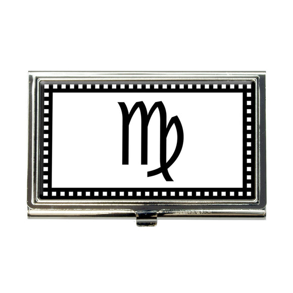 Zodiac Sign Virgo Business Credit Card Holder Case
