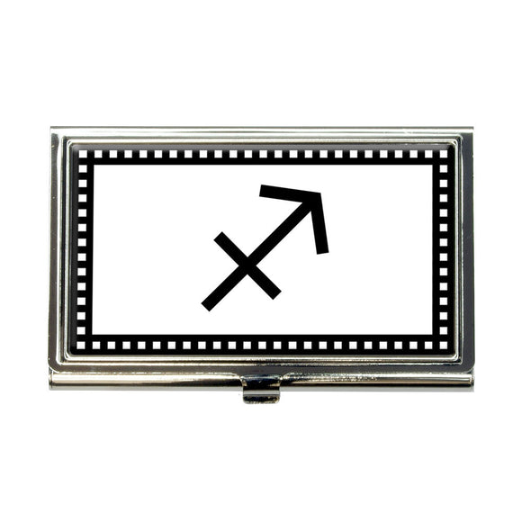 Zodiac Sign Sagittarius Business Credit Card Holder Case
