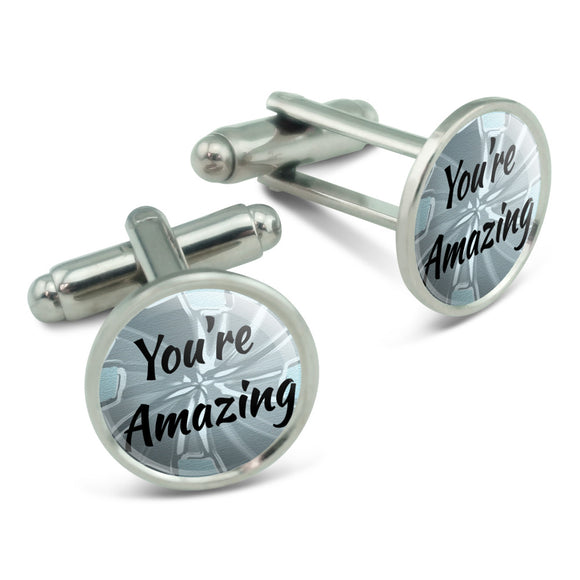You're Amazing How Do You Do It Men's Cufflinks Cuff Links Set