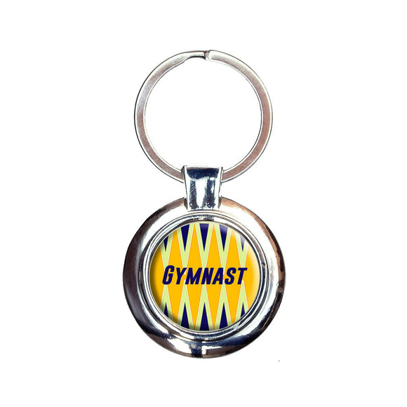 Gymnast For the Love of Gymnastics Keychain Key Ring
