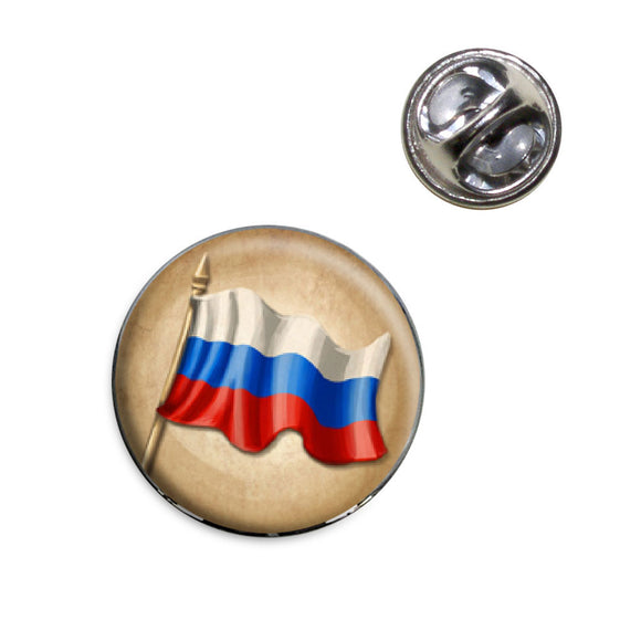 Vintage Russian Flag - Russia Lapel Hat Tie Pin Tack