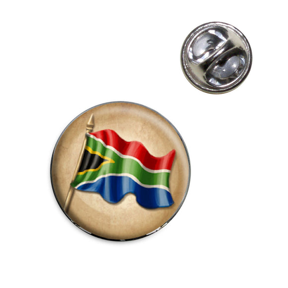 Vintage South African Flag - South Africa Lapel Hat Tie Pin Tack