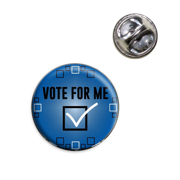 Vote For Me Lapel Hat Tie Pin Tack