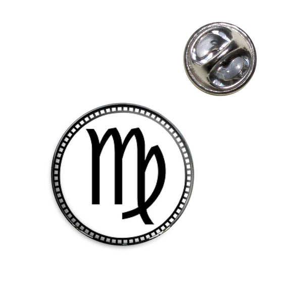 Zodiac Sign Virgo Lapel Hat Tie Pin Tack