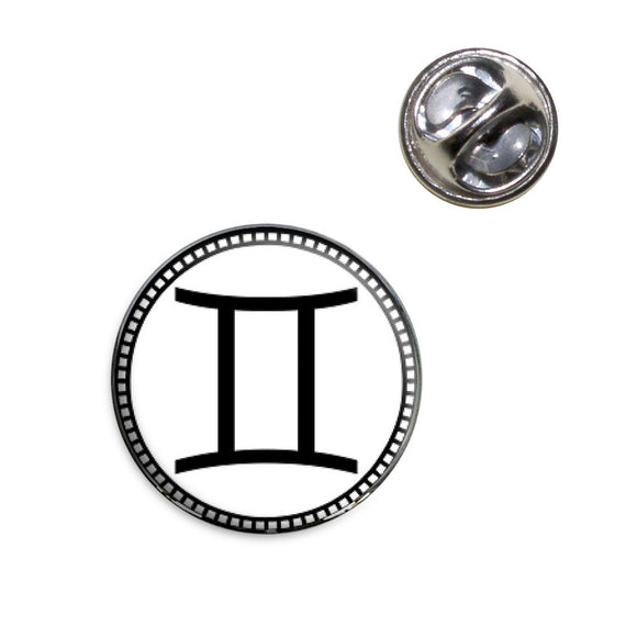 Zodiac Sign Gemini Lapel Hat Tie Pin Tack