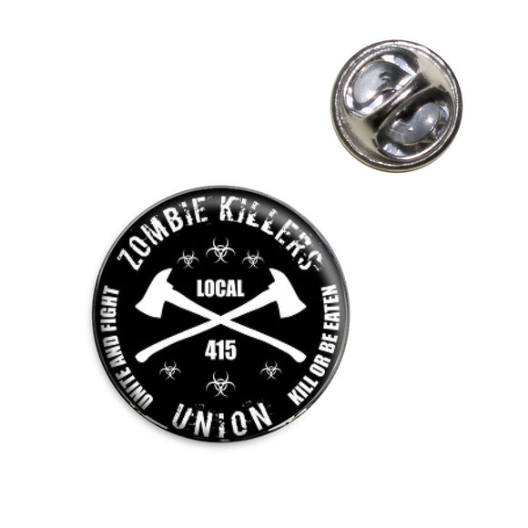 Zombie Killers Union Lapel Hat Tie Pin Tack