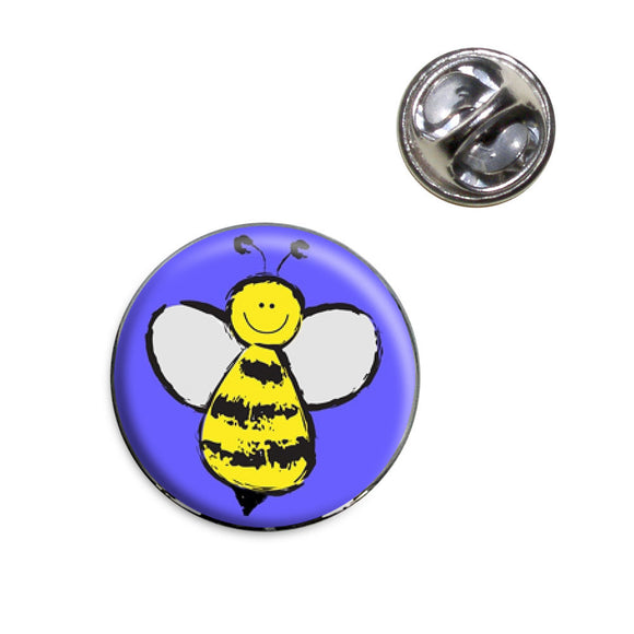 Busy As A Bee Lapel Hat Tie Pin Tack