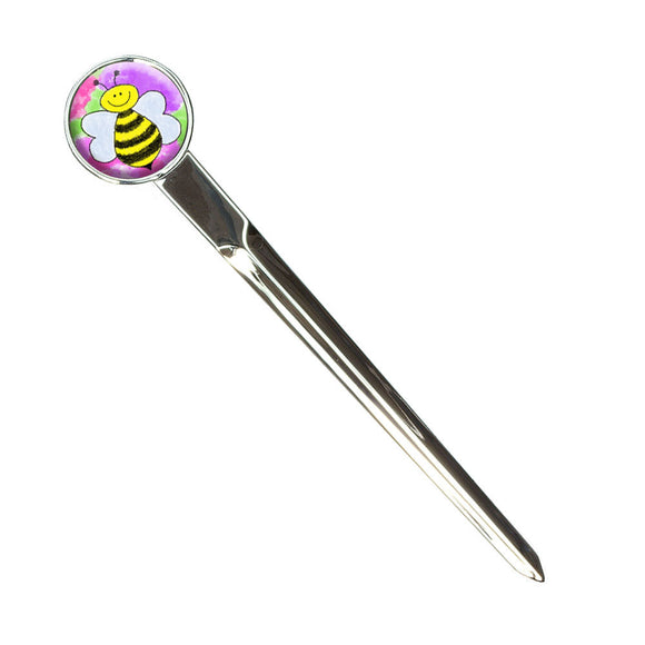 Busy As A Bee Watercolor Letter Envelope Opener Slitter