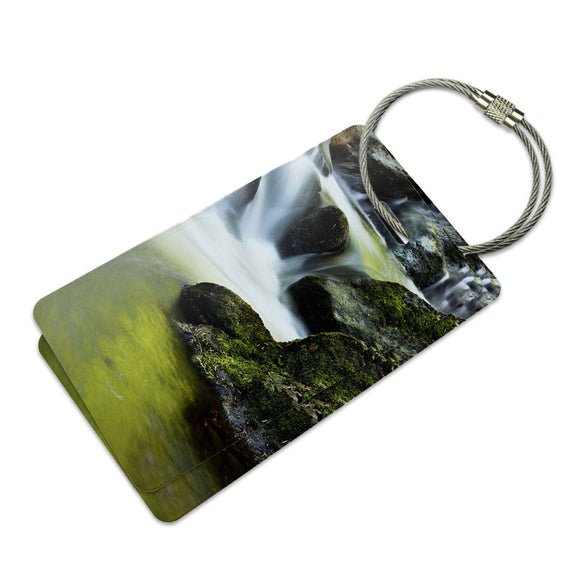 Waterfall Toormakeady Ireland Suitcase Bag ID Luggage Tag Set