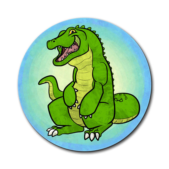 Happy Alligator Mouse Pad