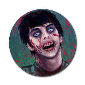 Zombified Boy Mouse Pad