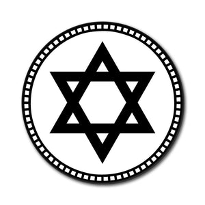 Star of David Mouse Pad