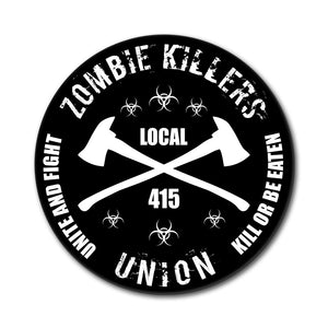 Zombie Killers Union Mouse Pad