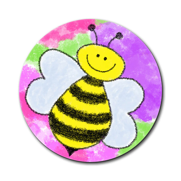 Busy As A Bee Watercolor Mouse Pad