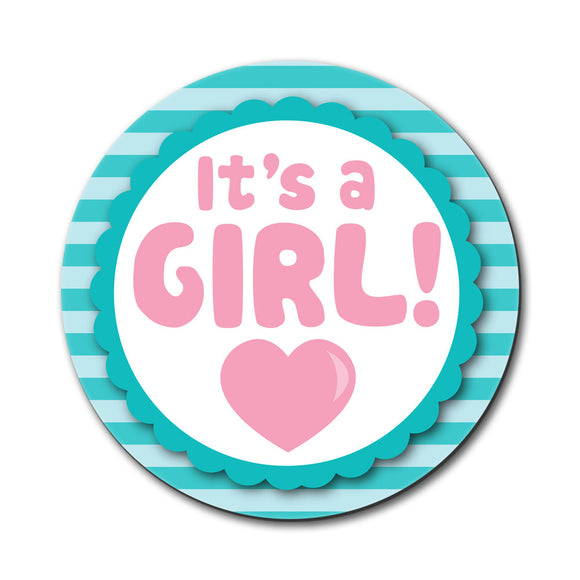 It's A Girl Baby Mouse Pad