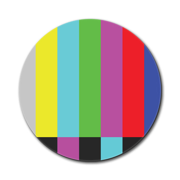 Test Television Color Bars Mouse Pad