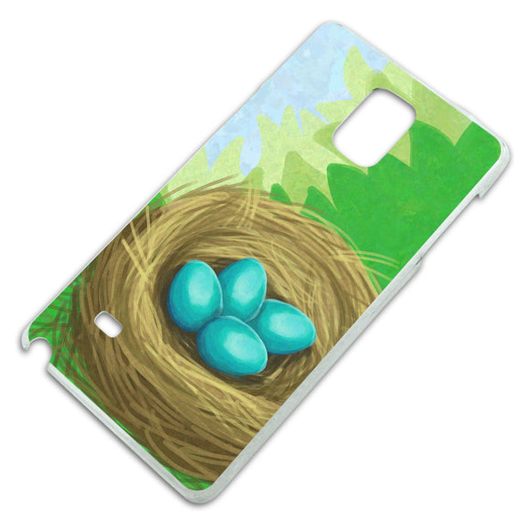 Robins Nest with Eggs Slim Fit Hard Case Fits Samsung Galaxy Note 4