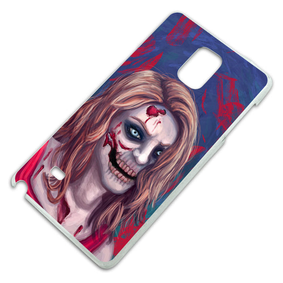 Zombified Girl Slim Fit Hard Case Fits Samsung Galaxy Note 4