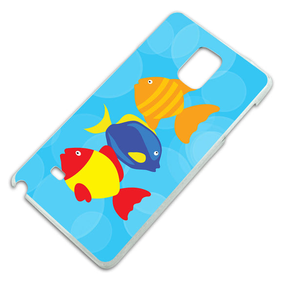 Tropical Fish Slim Fit Hard Case Fits Samsung Galaxy Note 4