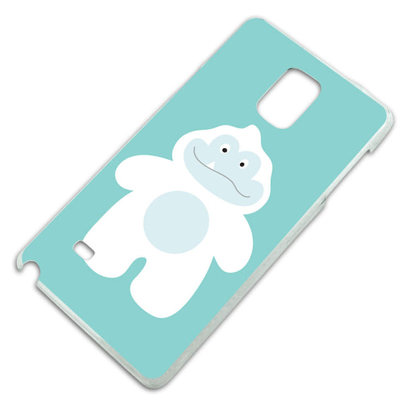 Yeti Abominable Snowman Slim Fit Hard Case Fits Samsung Galaxy Note 4