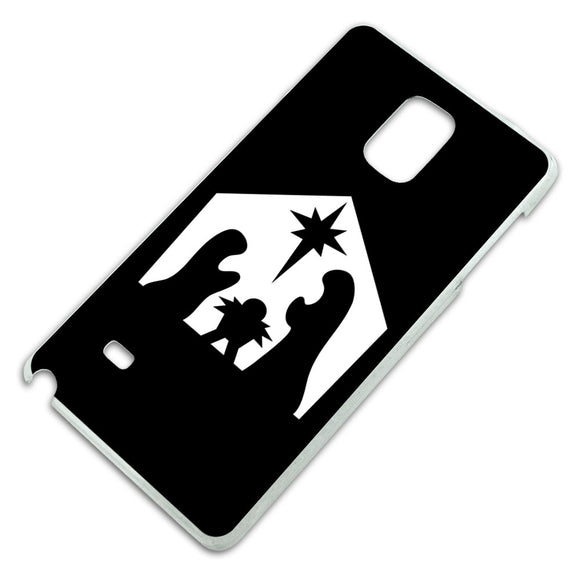Nativity Scene Christmas Slim Fit Hard Case Fits Samsung Galaxy Note 4