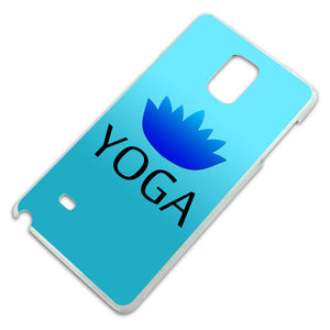 Yoga Lotus Flower Slim Fit Hard Case Fits Samsung Galaxy Note 4