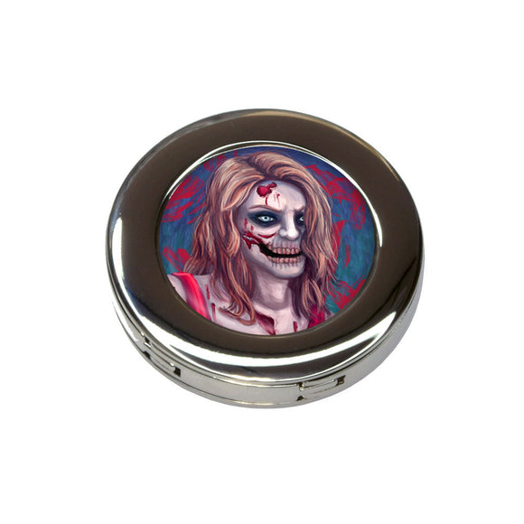 Zombified Girl Foldable Retractable Purse Bag Handbag Hook Hanger Holder