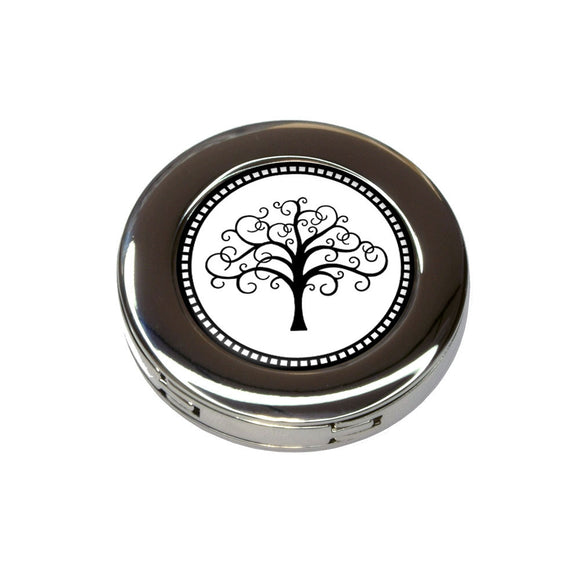 Tree of Life Foldable Retractable Purse Bag Handbag Hook Hanger Holder