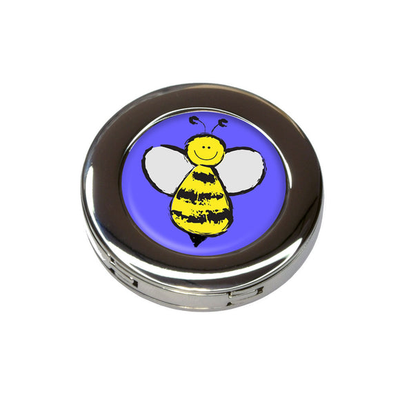 Busy As A Bee Foldable Retractable Purse Bag Handbag Hook Hanger Holder