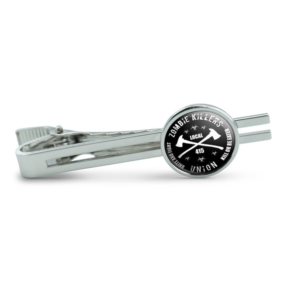 Zombie Killers Union Men's Tie Clip Tack Bar