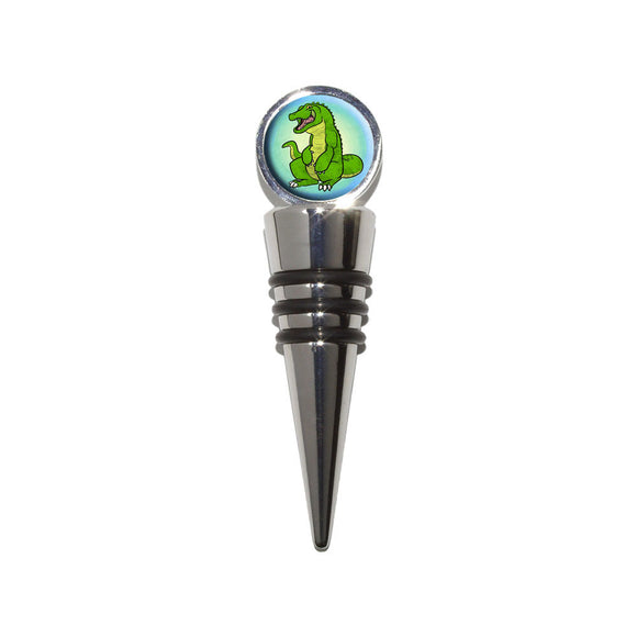 Alligator Wine Bottle Stopper Cork