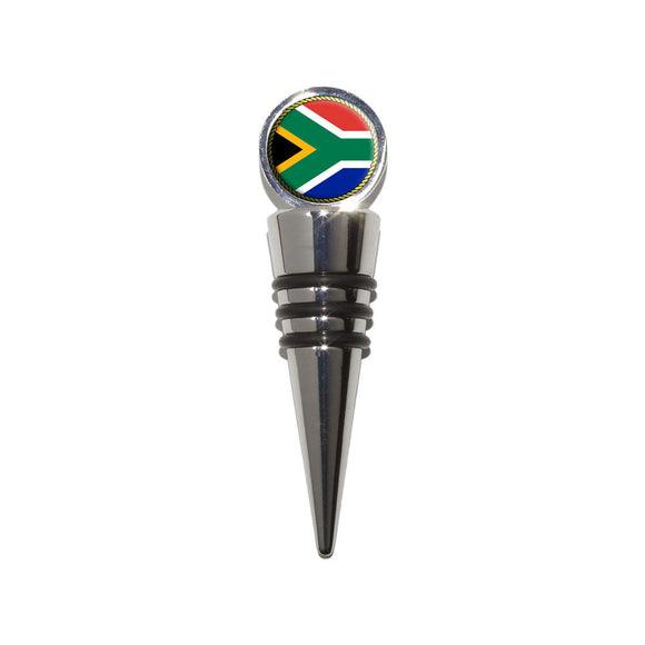 Flag of South Africa Wine Bottle Stopper Cork