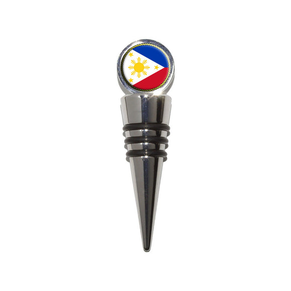 Flag of Philippines Wine Bottle Stopper Cork